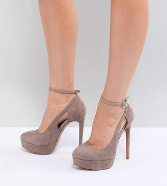 Asos Design Partyline Wide Fit Platform Heels
