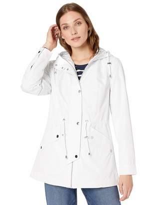 Details Women's Zip Front Hooded Anorak Jacket
