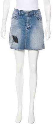 IRO Denim Mini Skirt