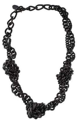 Burberry Tangled Chain Necklace