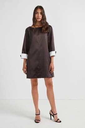 Elsy French Connenction Duchess Satin Slip Dress