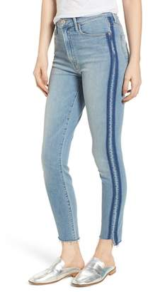 Mother The Stunner Fray Step Hem Skinny Jeans