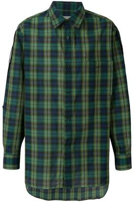 Lanvin casual checked shirt