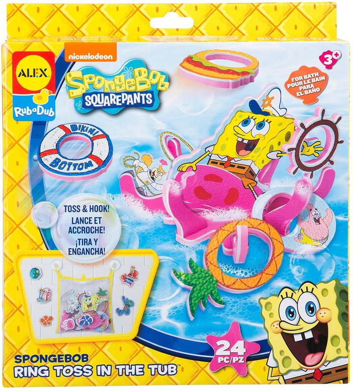 Alex SpongeBob Ring Toss Toy