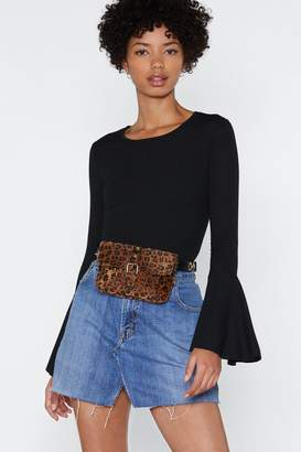 Nasty Gal Farewell Ribbed Top