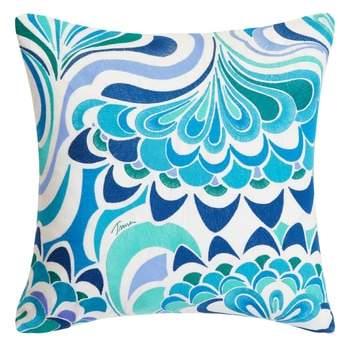 Avalon Lotus Accent Pillow