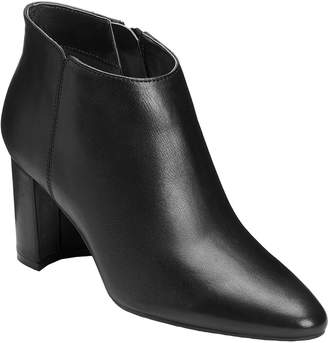 Aerosoles X Martha Stewart Leather Ankle Boots- Katherine