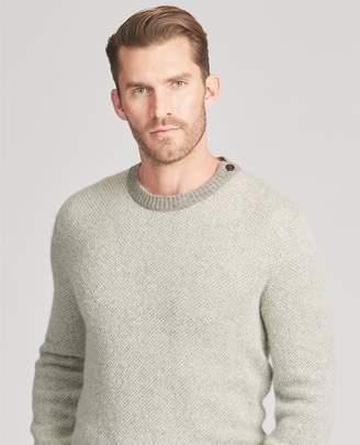 Ralph Lauren Single-Button Cashmere Sweater