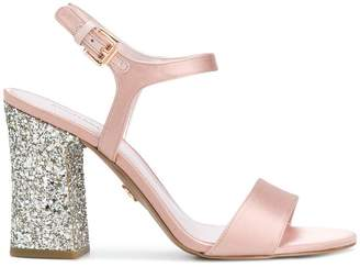 MICHAEL Michael Kors Tori glitter-finished sandals