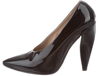 Michael Kors Patent Leather Pointed-Toe Pumps