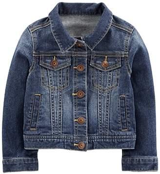 Carter's Simple Joys by Baby Girls' Toddler Denim Jacket