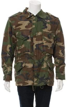 Fear Of God Camo Zip-Up Jacket