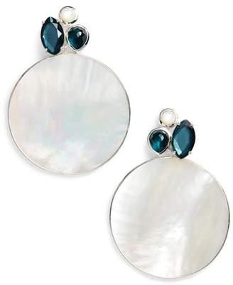 Ippolita Wonderland Drop Gemstone Mother of Pearl Earrings