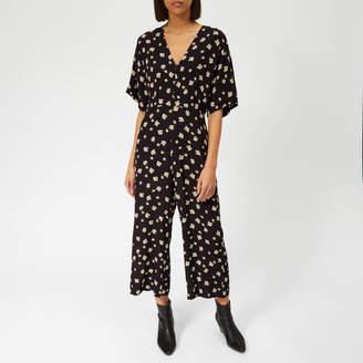 2aaa57e754de Whistles Women s Edelweiss Print Button Jumpsuit