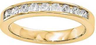 MODERN BRIDE 1/2 CT. T.W. Diamond 14K Yellow Gold Wedding Band