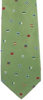 Salvatore Ferragamo Silk Jacquard Tie
