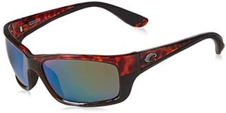 Costa del Mar Unisex-Adult Jose JO 10 OGMGLP Polarized Iridium Wrap Sunglasses