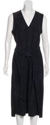 Frame Suede Midi Dress