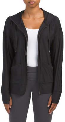 Hooded Zip Yoga Jacket
