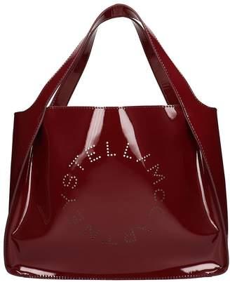 Stella McCartney Burgundy Patent Leather Tote Bag