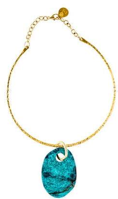 Devon Leigh Turquoise Collar Necklace