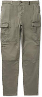 Brunello Cucinelli Stretch-Cotton Cargo Trousers