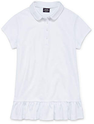 IZOD EXCLUSIVE Izod Exclusive Short Sleeve Polo Shirt Girls