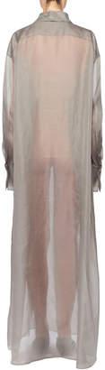 The Row Siena Semisheer Chiffon Shirtdress