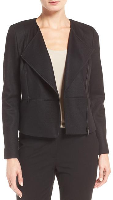 Classiques EntierClassiques Entier Wool Blend Peplum Moto Jacket