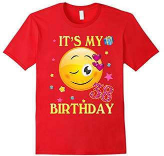 At Amazon Its My 38th Birthday Shirt 38 Years Old Gift For Women