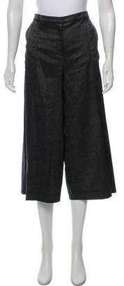 St. John High-Rise Wide-Leg Pants
