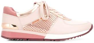 Michael Kors perforated lace-up sneakers