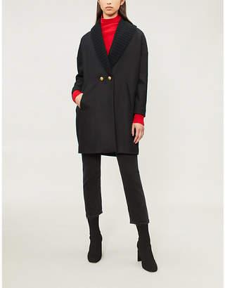 Pinko Cannocchiale wool-blend coat