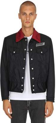 Givenchy Padded Nylon Trucker Jacket