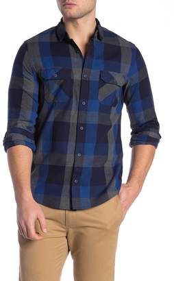 WALLIN & BROS Plaid Long Sleeve Flannel Shirt