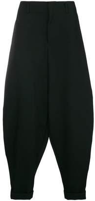 Comme des Garcons drop crotch trousers