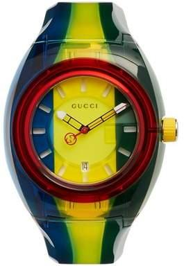 Gucci - Sync Striped Watch - Mens - Multi