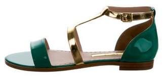 Rupert Sanderson Alva Ankle Strap Sandals w/ Tags