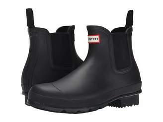 Hunter Dark Sole Chelsea Boots