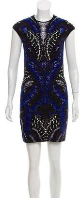 Alexander McQueen Jacquard Knit Dress
