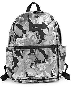 1 STATE Williams Metallic Camouflage Backpack
