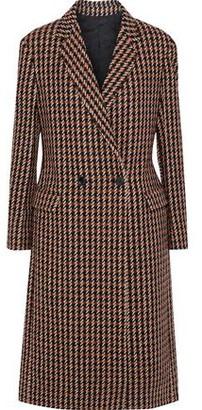 Derek Lam Double-breasted Checked Wool-blend Tweed Coat