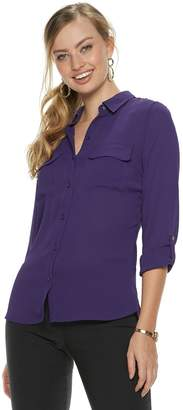 Apt. 9 Women's Collared Blouse