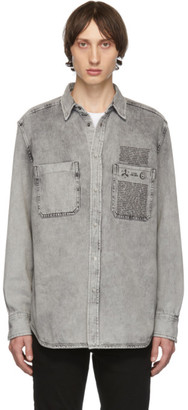 Diesel Black Denim D-Milov Shirt
