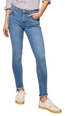 MANGO Isa Skinny Cropped Jeans