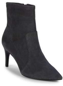 Charles David Pride Suede Point Toe Ankle Boots