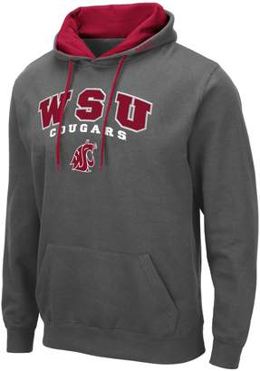 NCAA Unbranded Mens Washington State Cougars Mens Pullover Hooded Fleece