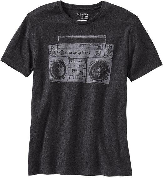 Old Navy Men's Boombox Graphic Tees