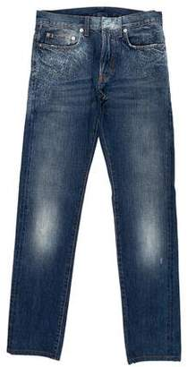 Christian Dior 2007 Distressed Skinny Jeans
