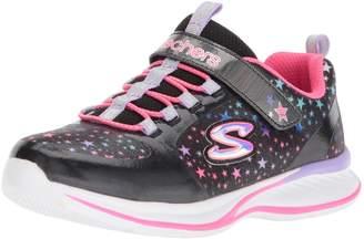 Skechers Girl's Jumpin JAMS - Cosmic Cutie Sneakers, Blue/Multi